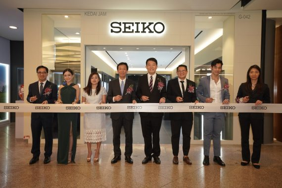 Seiko Boutique Grand Opening at Mid Valley