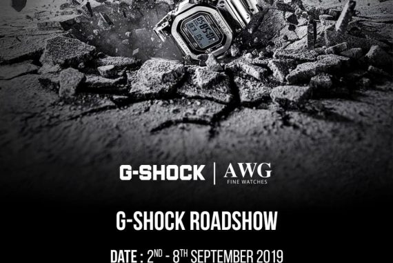 Casio G-Shock Premium Roadshow at Mid Valley