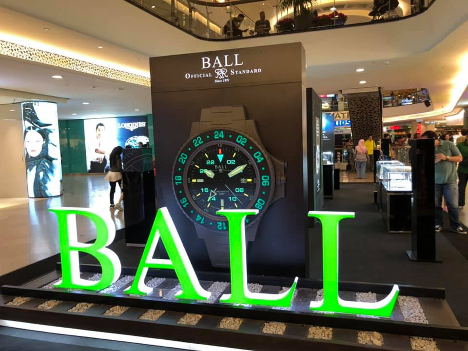Ball Watch Roadshow at Mid Valley